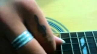 Lời từ trái tim anh guitar cover by Rain