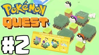 EXPEDITION 3-PACK BUNDLE OPENING! - Pokemon Quest Gameplay Walkthrough Part 2 (Switch, IOS, Android)