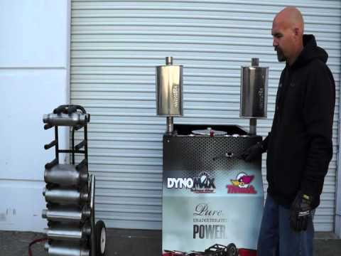 DynoMax Exhaust   Mobile Sound Cart