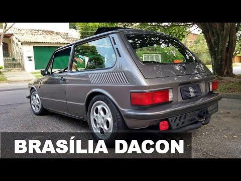 Garagem Drops #61: Brasília Dacon 1800 (ar condicionado, rodas 16, injeção, escape inox)