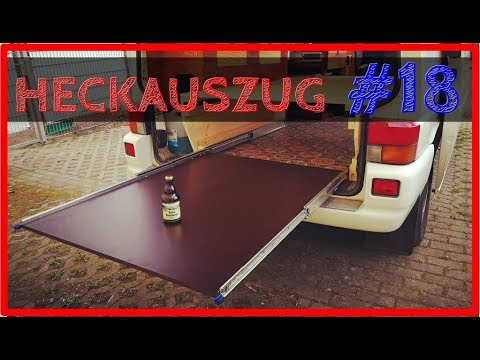 heckauszug bauen vw t4 camper ausbau 19 youtube. Black Bedroom Furniture Sets. Home Design Ideas