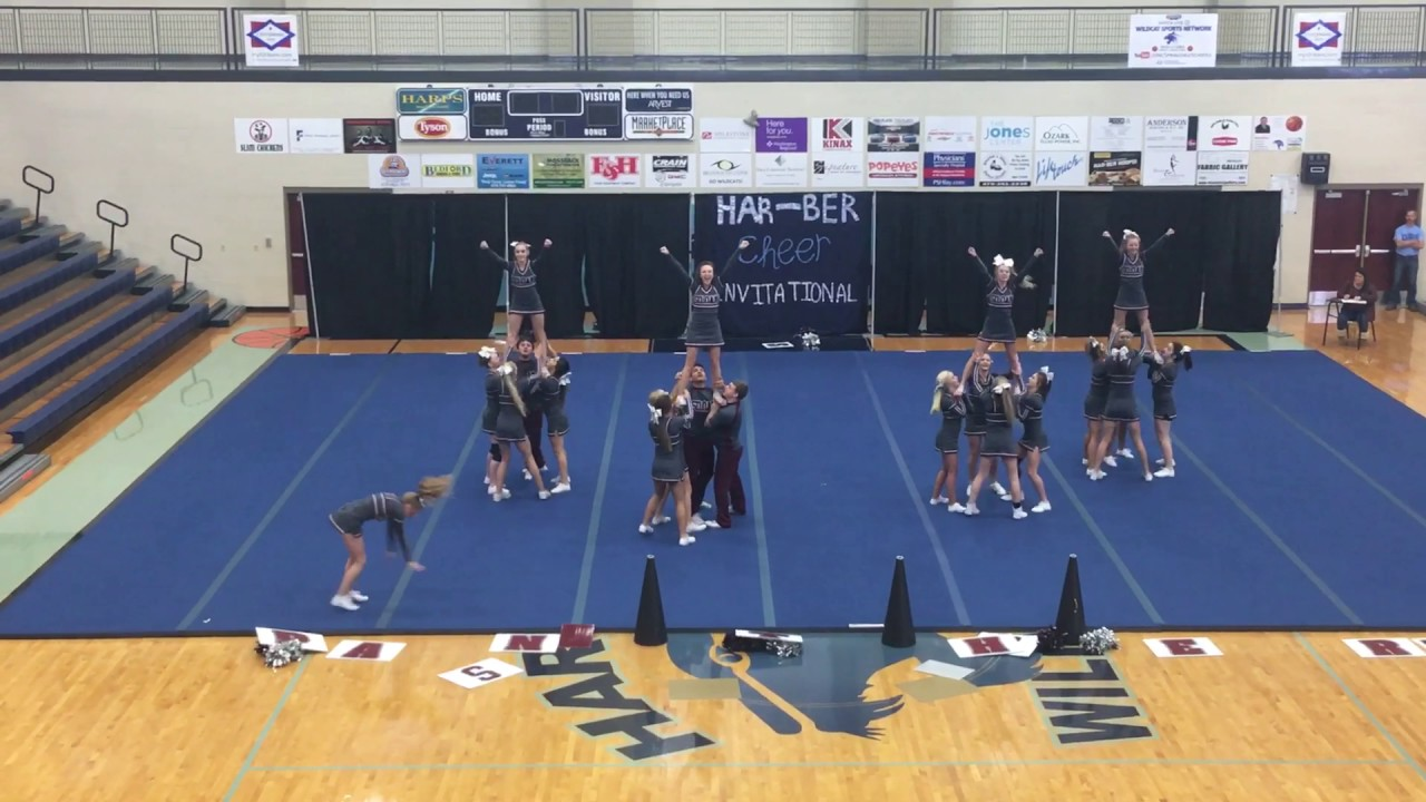 Siloam Springs Compete At The Harber Cheer Invitational Youtube