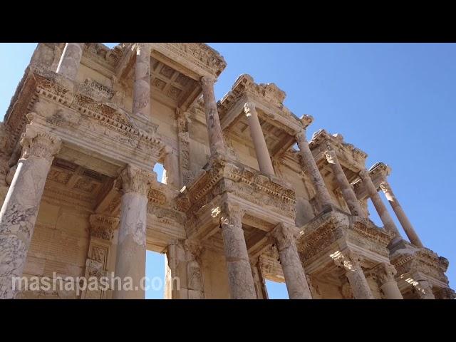 Турция город Эфес - древний античный город в Турции / city of Efes