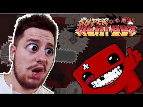 Chcieli mnie PRZECIĄĆ NA PÓŁ! - Super Meat Boy