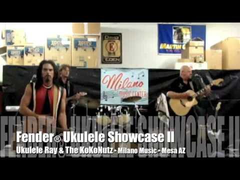 Fender® Ukulele Showcase II: Ukulele Ray LIVE at Milano Music