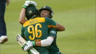 South Africa vs England 5th ODI | AB De Villiers Guides South Africa To ODI Series Win