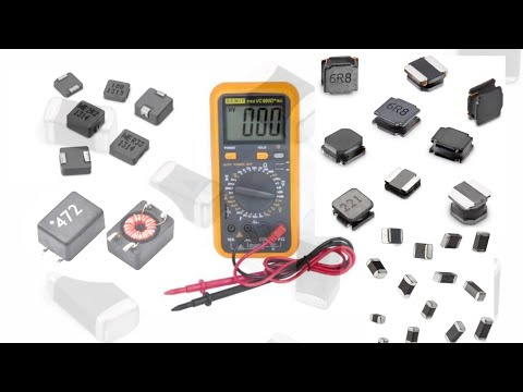 How to check smd coil digital multimeter