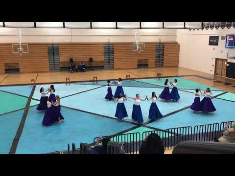 Alonso High School's Touch of Class Dance Team Solo and Ensemble