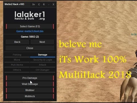 Tutorial | Metin2 PServer Hack by lalaker1 and Bypass 2018 100% شرح كامل