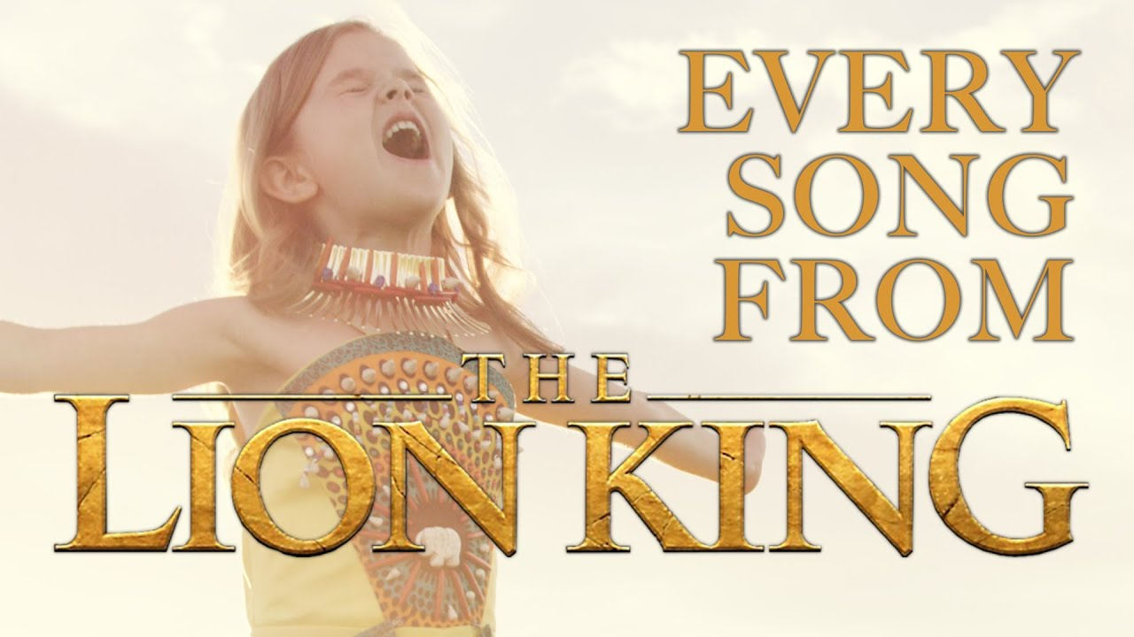 Every Song From Disney S The Lion King 6 Year Old Claire And The Crosby Family Youtube