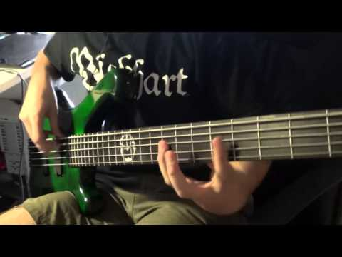 "HIDEOUS DIVINITY - ""Life During Epidemic"" (Bass Playthrough)"
