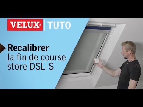 Recalibrer La Fin De Course Dun Store Velux Dsl S