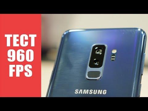 Samsung Galaxy S9 и S9  первый взгляд и тест 960FPS