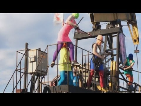 Pussy Riot release new video targeting Russian oil and gas industry