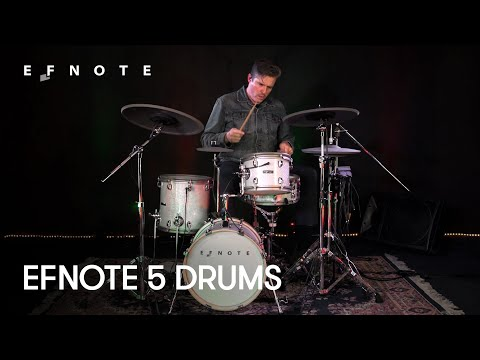 EFNOTE 5 Electronic drums deep dive w/ Michael Bedard