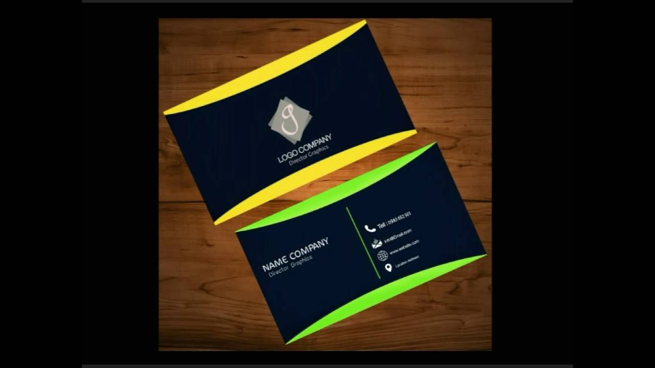 Pics Art Tutorials ||How to make Business Card Design_ FULL HD - YouTube
