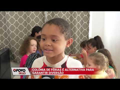 O Povo na TV: Colônia de férias é opção para crianças não ficarem ociosas