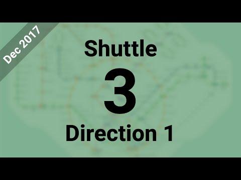Hyperlapse - MRT Closure: Shuttle 3 (Joo Koon → Tuas Link)