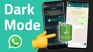 WhatsApp Dark Mode einschalten und Akku sparen! (Android & iOS)