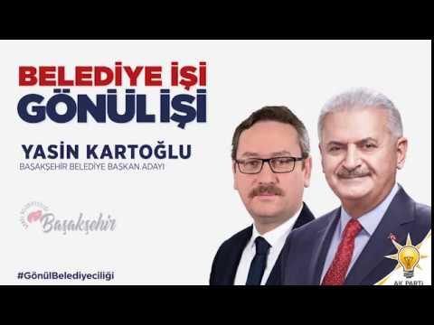Başakşehir Belediye Başkan Adayımız Yasin Kartoğlu #GönülBelediyeciliği