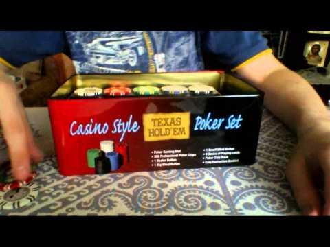 Обзор на покерный набор Texas Holdem Light