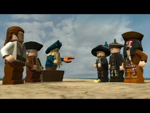 LEGO Pirates of the Caribbean - At World's End (Full Movie) HD |