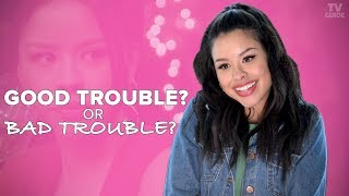 The Fosters' Cierra Ramirez Plays Good Trouble or Bad Trouble