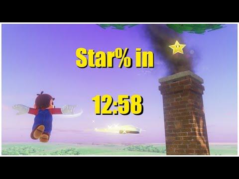 [PB] Super Mario Odyssey Star% in 12:58  