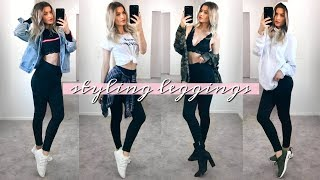 WHAT TO WEAR WHEN YOU HAVE NOTHING TO WEAR - LEGGINGS!