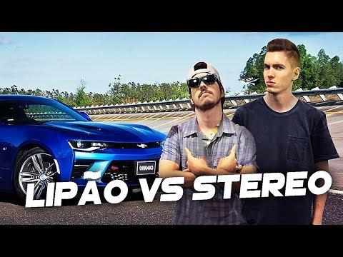 LIPÃO GAMER vs STEREO - #Forza7Live (CORRIDA AO VIVO)