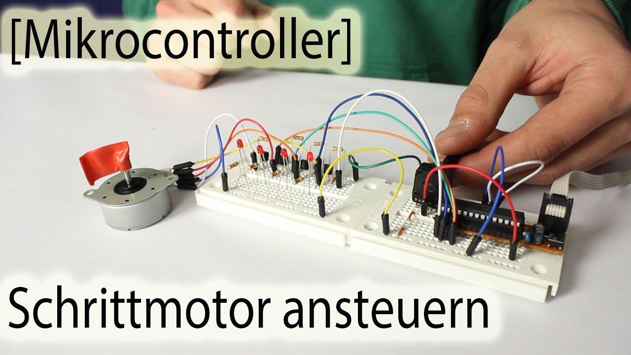 Schrittmotor ansteuern mikrocontroller