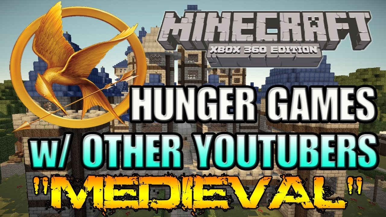Xbox 360 Hunger Games : Minecraft xbox medieval hunger games w other