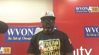 Watch The WVON Morning Show...How job growth hurts Black People in Chicago!