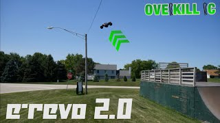 Traxxas E-Revo 2.0 Getting Crazy at the Skate Park! | Edit & Running Footage | Overkill RC