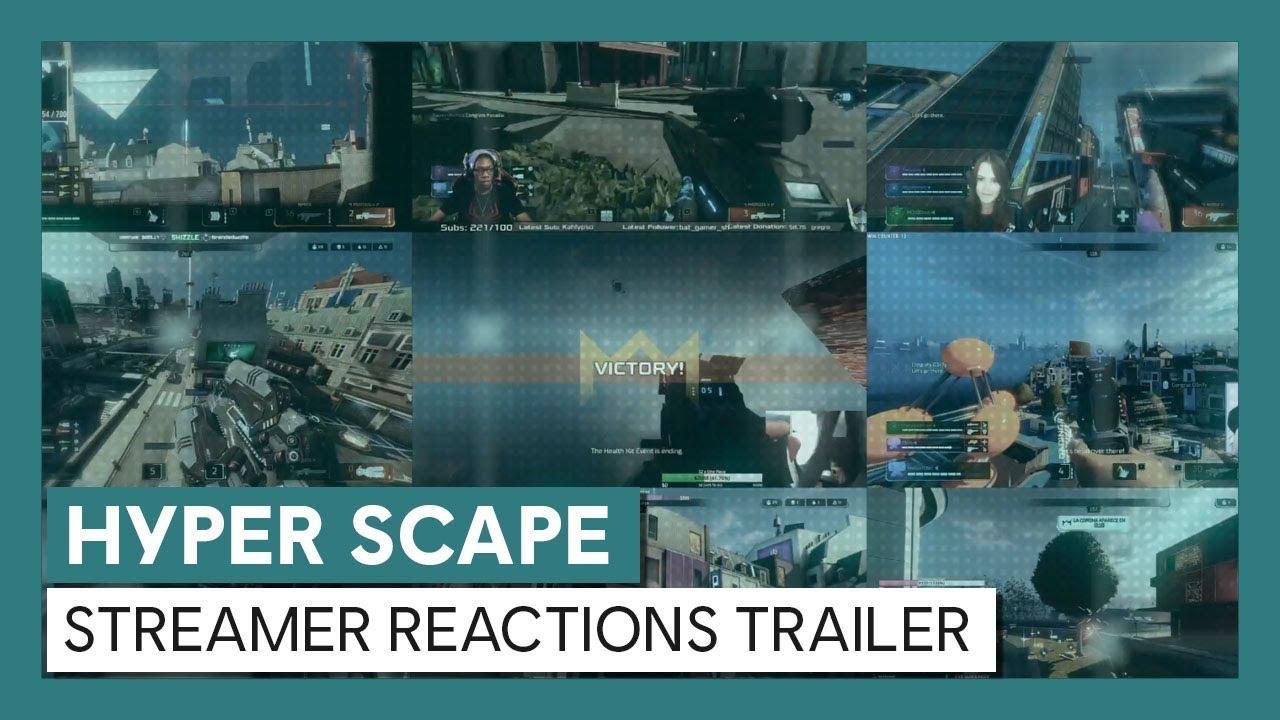 Hyper Scape: Streamer Reactions Trailer