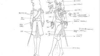 Versaille no Bara character setting- Lady Oscar- Takamura Store