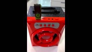 mini caixa de som mp3 rádio bluetooth grasep d bh 1019