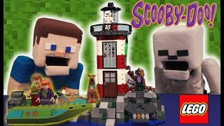 LEGO Scooby Doo Haunted Lighthouse ADVENTURE Stop Motion 75903 Toy Minecraft Set Unboxing