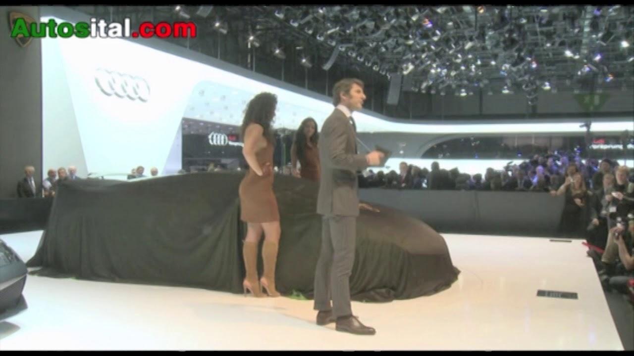 Conférence de presse Lamborghini au salon de Genève 2010 ...