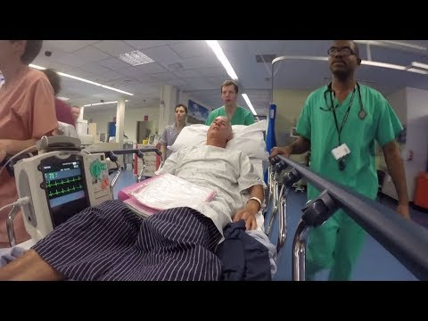 Having heart attack (MI - Myocardial Infarction) treatment , Derriford Hospital - Plymouth