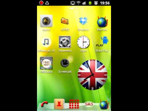 UK Analog Clock Widget HD - DROID DEVELOPERS