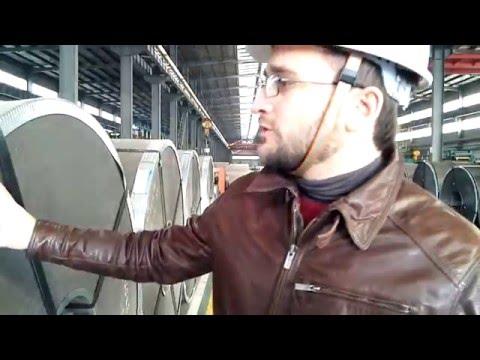 Завод Fuhai, линия по производству оцинковки GI (J.X.Y. Group)_часть 1