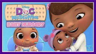Doc McStuffins - Play & Learn Baby Care, Dress Up - Doctor Baby Nursery - Disney Junior Kids Games
