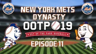 Out of the Park Baseball (OOTP) 19: New York Mets Dynasty - 2019 NLDS Part 2 [EP11]