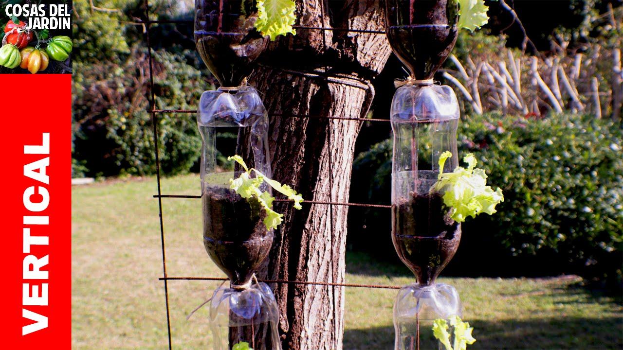 Como hacer el huerto vertical con botellas de pl stico m s for Como podar un ciruelo de jardin