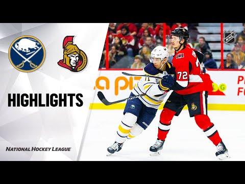 NHL Highlights   Sabres @ Senators 2/18/20