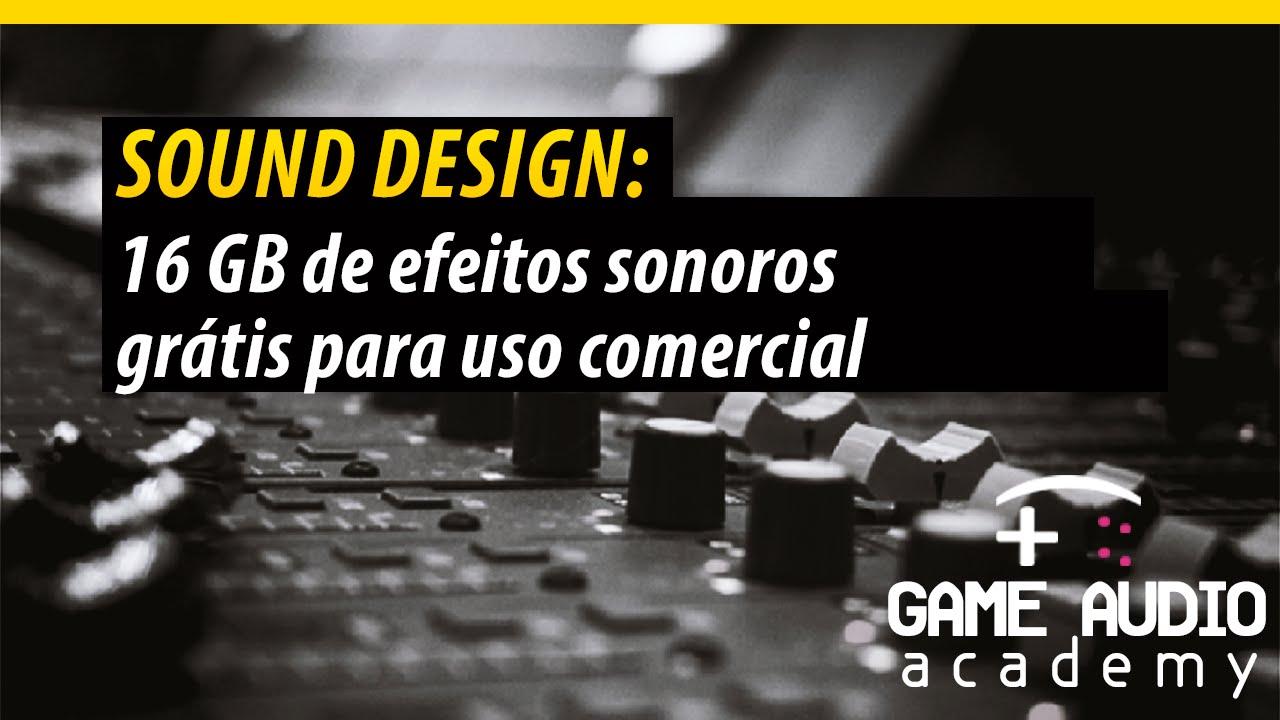 SONOROS PACOTE DE MP3 BAIXAR EFEITOS