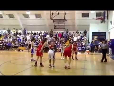 Culver City High School Girls Varsity Basketball Team Buzzer Beater to Win Game