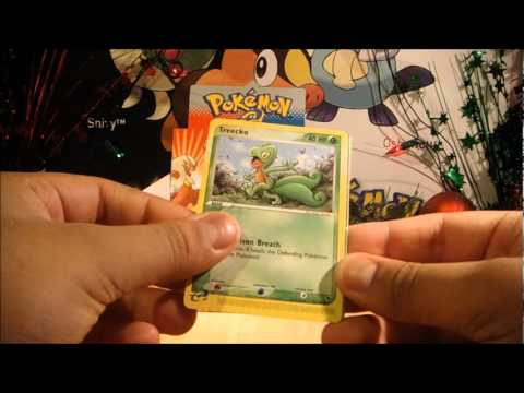 Christmas 2011, With PokeCollection! Part 5: EX Ruby & Sapphire Booster Box  Part 3