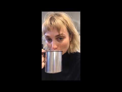 Alison Sudol Livestream – 16th February 2018 (feat. David Harbour)